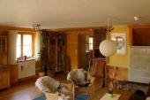 Blick in die Stube - Ferienheim - Bilder-Galerie - Bildergalerie: Ferienheim - Haus Mandorla - Ferienheim und Gästehaus
