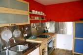 Küche - Ferienwohnung für Familien - Ferienwohnung für Familien - Bildergalerie: Ferienwohnung für Familien - Haus Mandorla - Ferienheim und Gästehaus