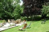 Blick von Terrasse - Gästehaus - Gästehaus - Bildergalerie: Gästehaus - Haus Mandorla - Ferienheim und Gästehaus