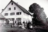 Das historische Badhaus um 1900 - Historisches - Historisches - Bildergalerie: Historisches - Haus Mandorla - Ferienheim und Gästehaus