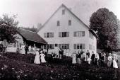 Bad mit Badegesellschaft 1901 - Historisches - Historisches - Bildergalerie: Historisches - Haus Mandorla - Ferienheim und Gästehaus